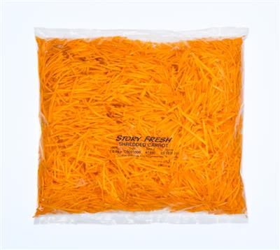 Carrot, 2.5mm Shred, 5 x 1.0kg